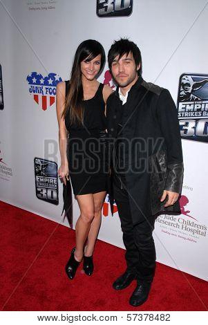 Ashlee Simpson-Wentz and Pete Wentz at