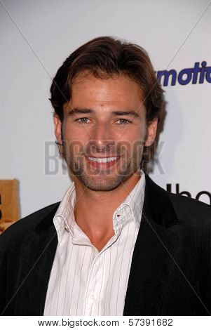 Brian Ames at the Red Carpet Launch Party for