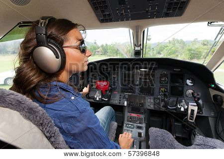 Women Pilot