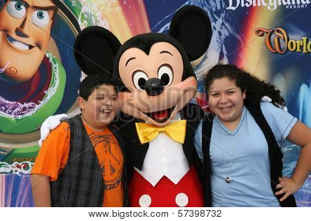Rico Rodriquez and Raini Rodriguez  at the World Premiere of 'World Of Color,' Disney's California Adventure, Amaheim, CA. 06-10-10