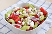 foto of melon  - Water Melon Salad with feta - JPG