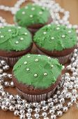 image of hazelnut tree  - Christmas Tree Muffins with chocolate - JPG