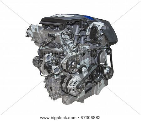Engine Of A Car