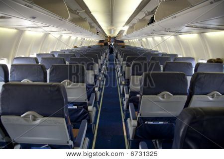 Nearly Empty Airplane