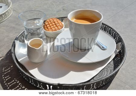 Coffee at a terrace