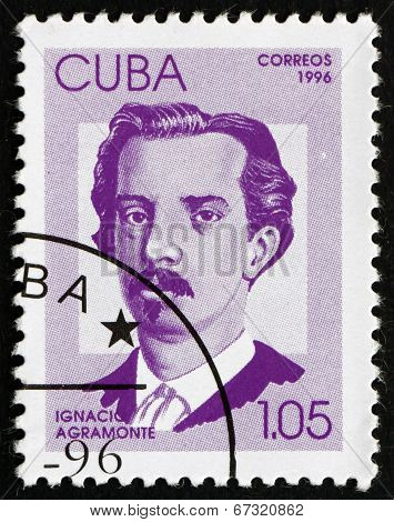 Postage Stamp Cuba 1996 Ignacio Agramonte, Cuban Revolutionary