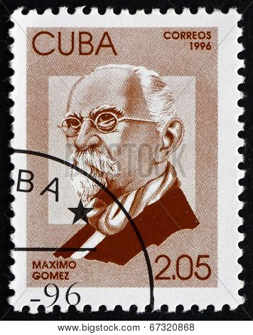 Postage Stamp Cuba 1996 Maximo Gomez, General