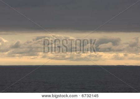 Some sky levels above sea