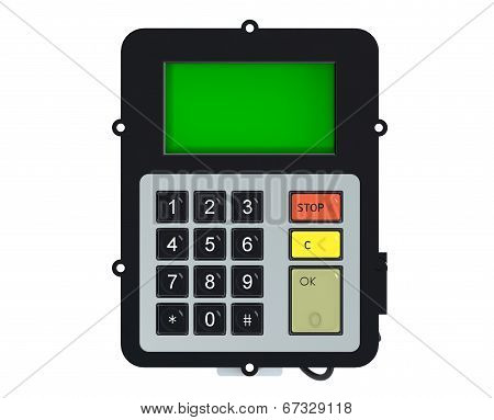 Keypad With Screen