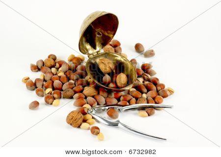 Steel And Brass Nutcracker
