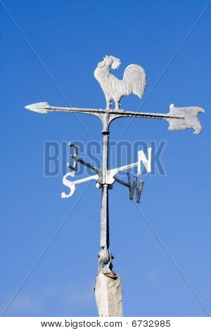 Old Fashioned Steel Weather Vane