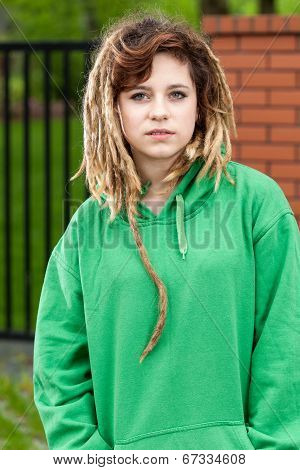 Rude Rasta Girl