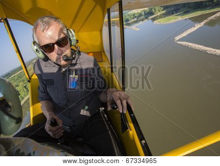 Flying a vintage aircraft