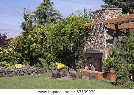 Garden Party Fireplace