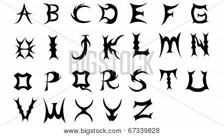 Evil font new