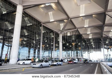 Terminal three building, Malaga Airport.
