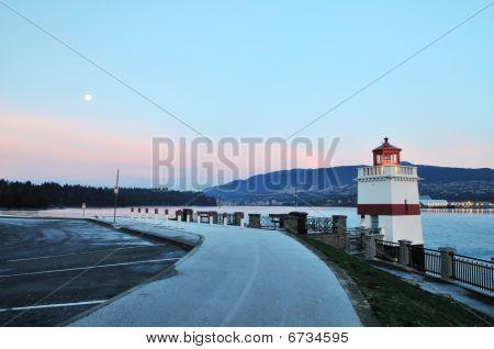 Faro de Brockton en Stanley Park