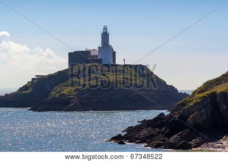 Mumbles Lighthouse Wales