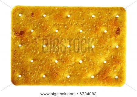 Salty Rectangular Cracker