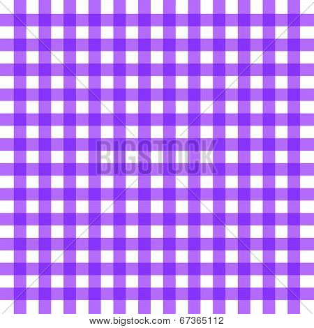 Vector Purple Gingham Background