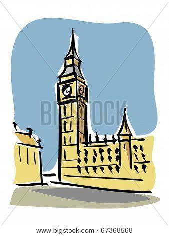 London (Big Ben)