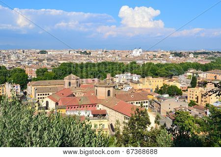 Top-view Of  Rome