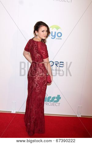 LOS ANGELES - JUN 24:  Taylor Spreitler at the 5th Annual Thirst Gala at the Beverly Hilton Hotel on June 24, 2014 in Beverly Hills, CA