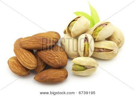 Almonds And Pistachio