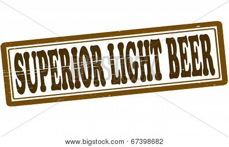 Superior Light Beer