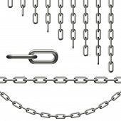 stock photo of infinity symbol  - Chain safe symbolism  - JPG