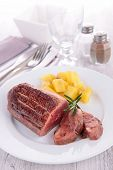 stock photo of duck breast  - duck breast - JPG