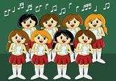 Cute Girls' Choir poster