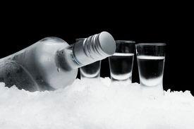 picture of vodka  - Close - JPG
