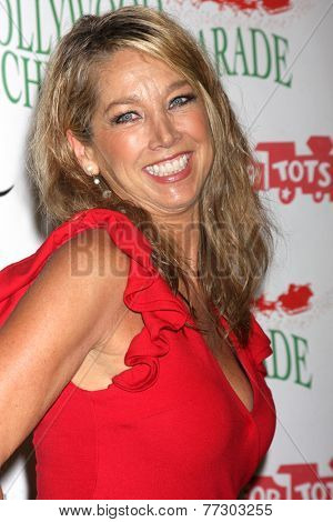 LOS ANGELES - NOV 30:  Denise Austin at the 2014 Hollywood Christmas Parade at the Hollywood Boulevard on November 30, 2014 in Los Angeles, CA