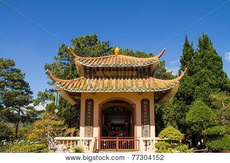 Pagoda In Park
