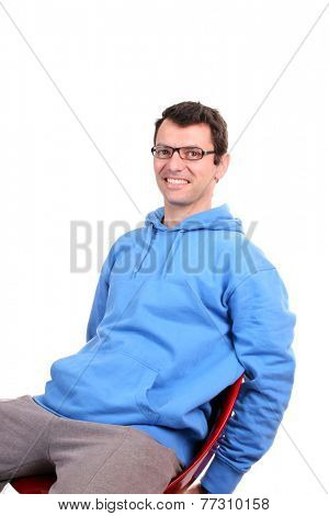 sexy casual man, fashion concept