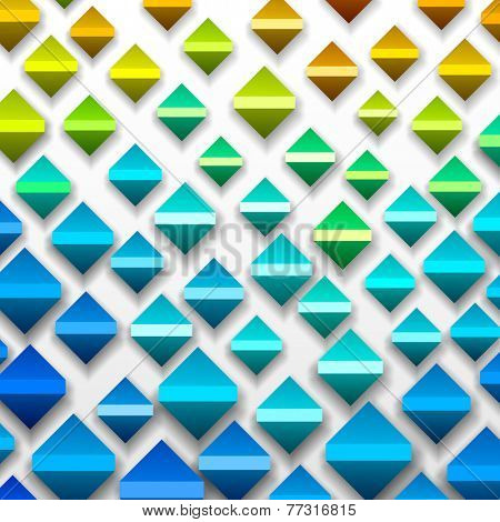 Colorful Geometric Background, vector eps10 format