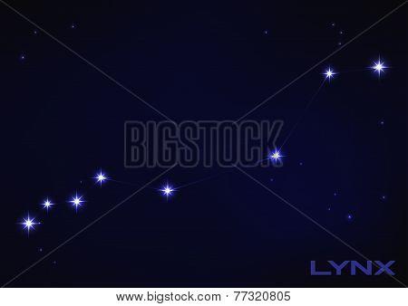illustration of Lynx constellation