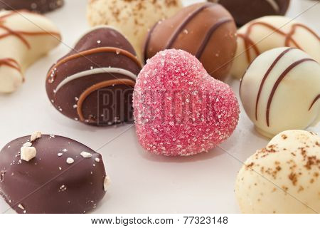 Selection Of Chocolate Candy