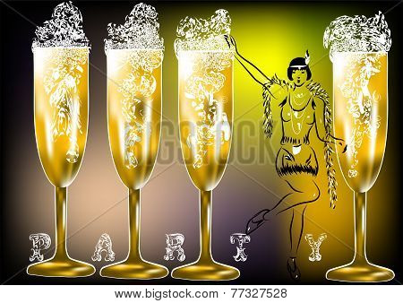 Champagne Party Twenties
