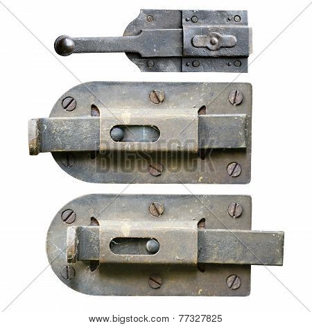 Old And Rusty Latches