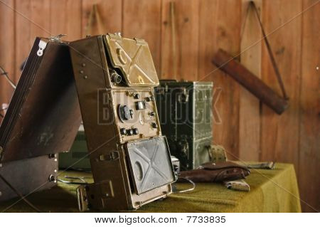 Military Radio Control Room