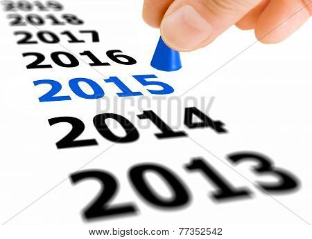 Step Into The New Year 2015
