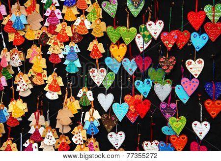 Souvenirs At Christrmas Market