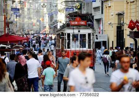 Istanbul Old Tram