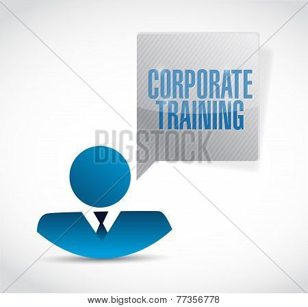 Corporate Training People Avatar Message
