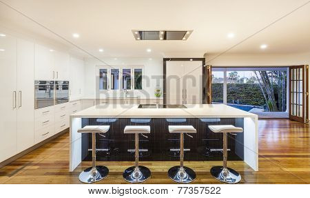 Ultra Modern Kitchen