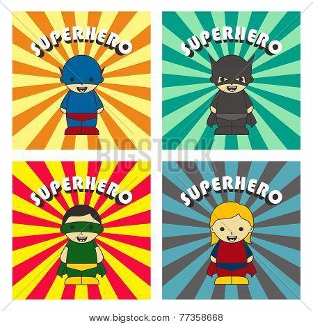little superhero cartoon