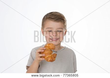 A Boy And A Croissant
