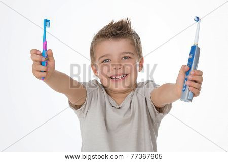 Smiling Young Child